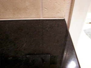 Chipped Granite Repaired