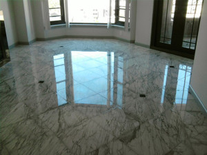 Marble Floor Polished